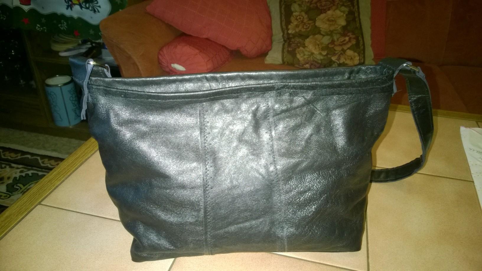 Leder Handtasche selber nähen – Nähen für Anfänger › Nähen für Anfänger!