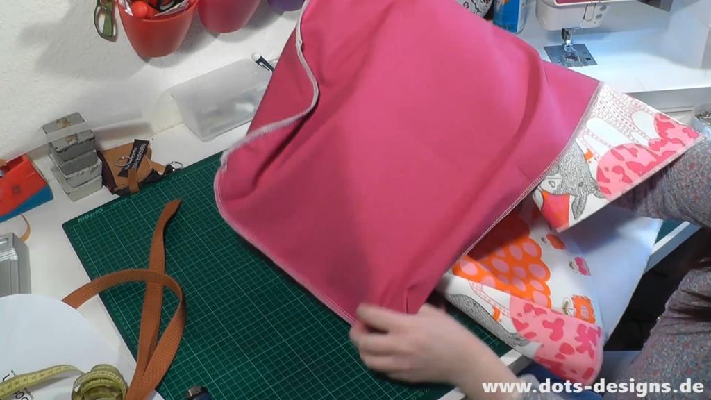 Außentasche in Innentasche