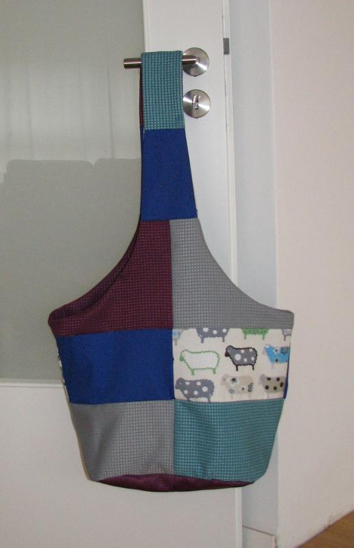 patchwork hippie tasche selber n hen n hen f r anf nger. Black Bedroom Furniture Sets. Home Design Ideas