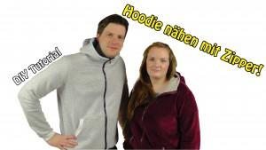 ZipperKaputzen Hoodie Schnittmuster