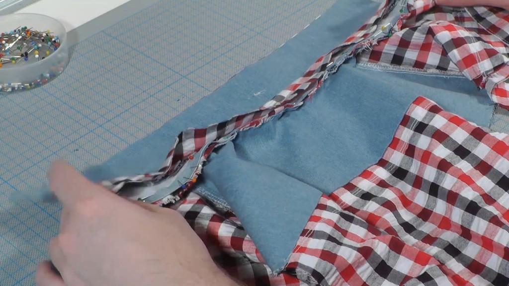 Kragen an Hemd